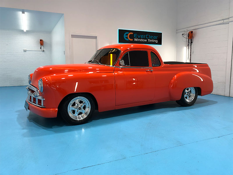 Paint protection on hot rod